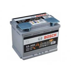 BOSCH S5 AGM 60AH 680A R+
