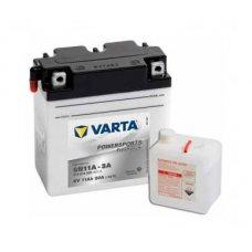 VARTA POWERSPORTS FRESHPACK 11AH 80A 6V R+