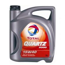 TOTAL QUARTZ 5000 15W40 - 5 Литра +28,70 лв.