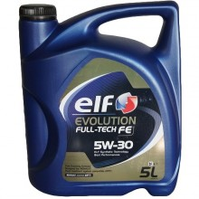 ELF EVOLUTION FULL-TECH FE 5W30 - 5 Литра +61,80 лв.