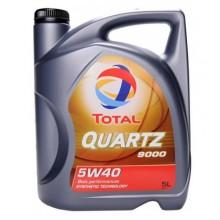 TOTAL QUARTZ 9000 5W40 - 5+1 Литра  +47,30 лв.