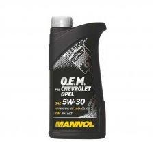 MANNOL O.E.M. OPEL, CHEVROLET 5W-30