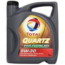 TOTAL QUARTZ 9000 FUTURE NFC 5W30 - 4 Литра +40,90 лв.