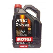 MOTUL 8100 XCLEAN 5W40 4 Литра +81,50 лв.
