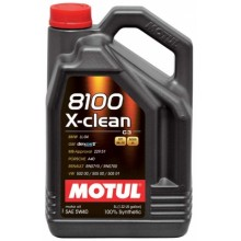 MOTUL 8100 XCLEAN 5W40 5 Литра +89,50 лв.